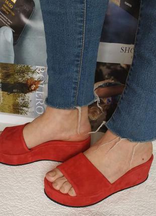 Шлепки шлепанцы сабо женские на платформе Mante S сандалии с толс