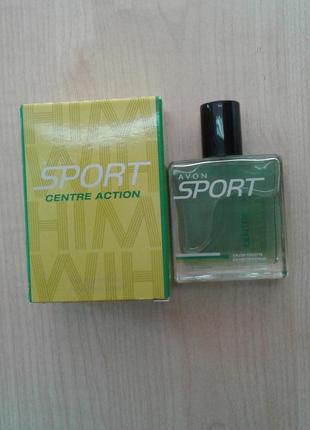 Туалетная вода sport centre action avon