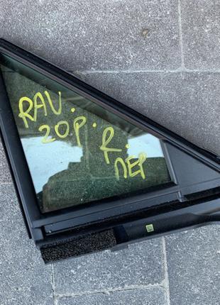 Стекло двери передней R глухое Toyota RAV4 Rav 4 Тойота Рав 4 202