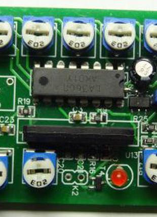 Микрофонный усилитель компрессор с эквалайзером для трансивера, р