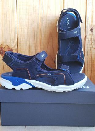 Кожаные удобные сандалии босоножки ecco biom оригинал