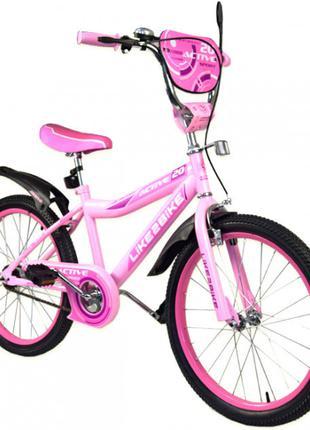 Двухколесный детский велосипед  20 дюймов Like2bike Sprint 192032