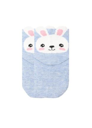 Носки для младенцев зайчик duna 6-12 месяцев 10-12 см стопа