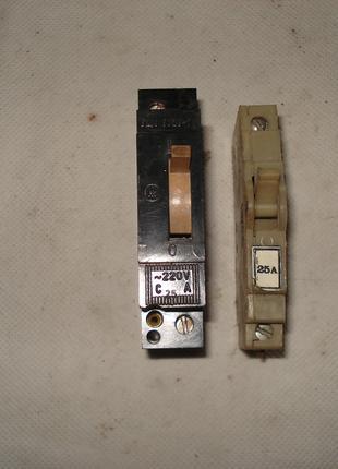Авт выключатели б у 1х АЕ 1031 и ВА 60-26