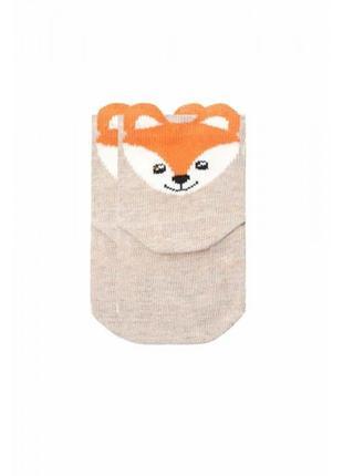 Носки для младенцев лисичка duna 6-12 месяцев 10-12 см стопа