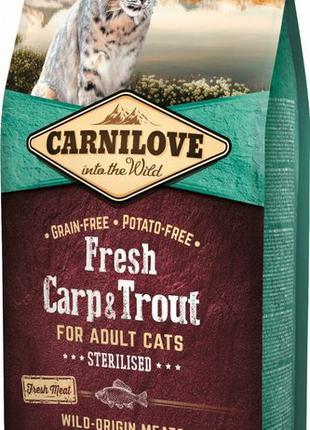Сухой корм Carnilove для стерилизованных кошек