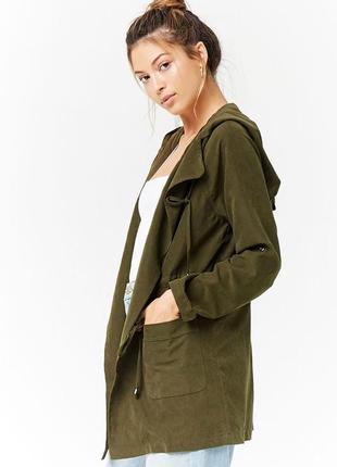 Стильная женская куртка ветровка forever21 анорак из америки