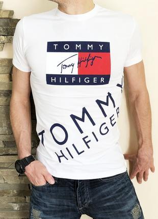 Футболка Tommy Hilfiger white