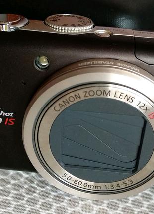 Цифровий японський фотоапарат Canon PowerShot SX200 IS