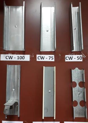 CW 75/3м/0,40мм/ металлопрофиль для гипсокартона