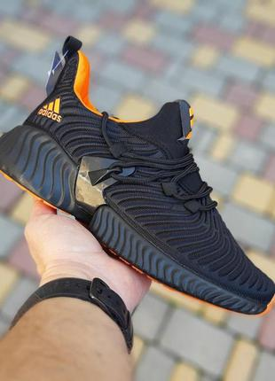 Adidas alphabounce black/orange