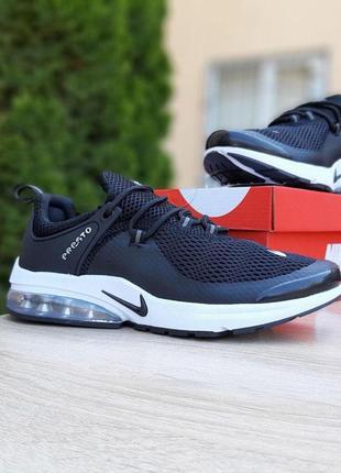 Мужские кроссовки nike air presto black&white