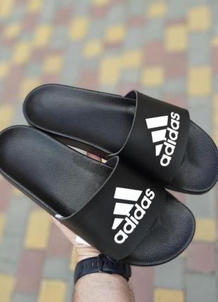 Мужские тапки 🔺 adidas 🔺 black