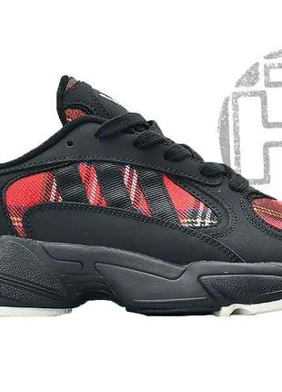 Мужские кроссовки adidas yung 1 absolute vintage black red ee6066