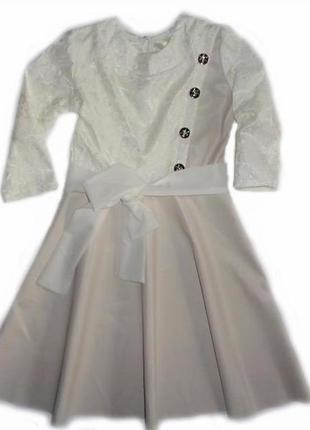 Праздничное платье на девочку р. 128,140