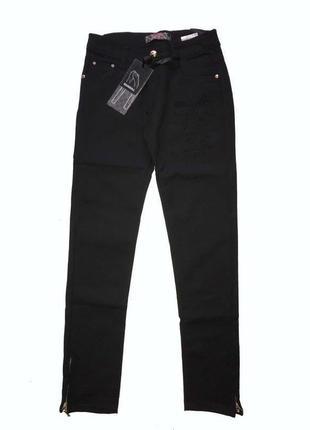 Чёрные штаны для девочек 146, 158 в наличии венгрия