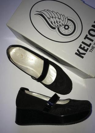 Женские замшевые туфли kelton р. 38