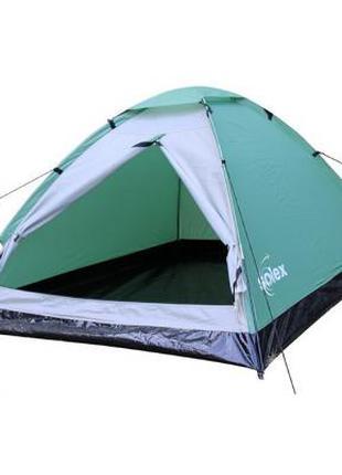 Палатка SOLEX двухместная зеленая