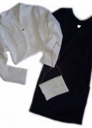 Нарядный комплект платье, болеро, сумочка