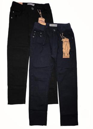 Коттоновые брюки для мальчиков р. 116-146