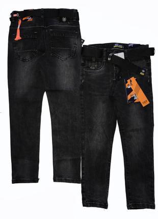 Стильные черные джинсы для подростков