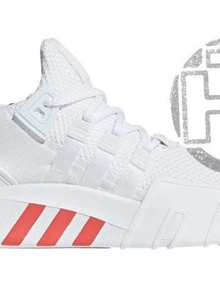 Мужские кроссовки adidas eqt bask adv white/trase scarlet cq2992