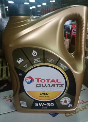 Масло моторное QUARTZ INEO LONG LIFE 5W-30  ACEA C3 VW 504.00/507