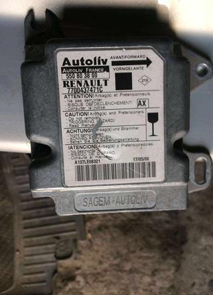 Б/у блок управления airbag для Renault Scenic 1, Рено Сценик