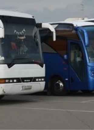 Аренда, заказ автобуса от 8 до 50 мест по Киеву и Украине