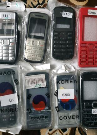 Корпуса для Nokia в ассортименте.