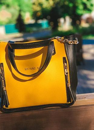 "Сумка "" michael kors yellow """
