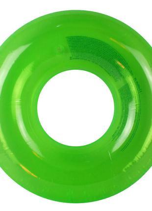 Круг надувной Intex Неон зелёный, от 8 лет (59260)
