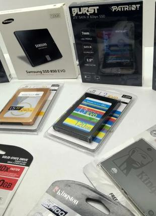 Гарантия! Новые SSD m.2 sata 120Gb (128, 240, 512Gb)!