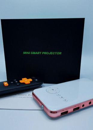 SMART Android Проектор M6S Wi-Fi/Bluetooth/Лучший компактный прое