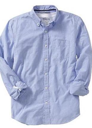Рубашка мужская old navy men's slim-fit oxford shirts