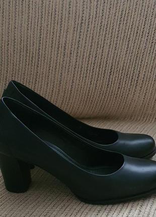 Туфли ecco, 41 размер, кожа