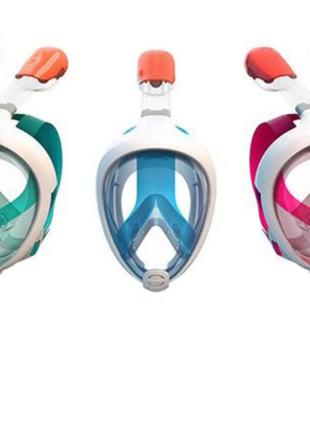 Маска для снорклинга система Dry Top, маска для плавания