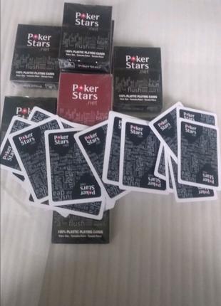 POKER Stars карты игральные ваше хобби