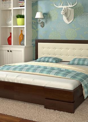 """Нові ліжка з натурального дерева від """"Арбор Древ"""" зі складу."""