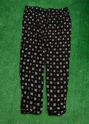 Натуральные летние штаны брюки большого размера батал
