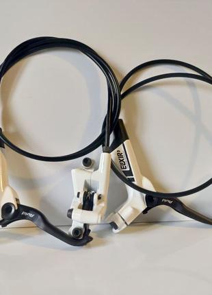 Sram AVID ELIXIR 3 гидравлические вело тормоза комплект белые