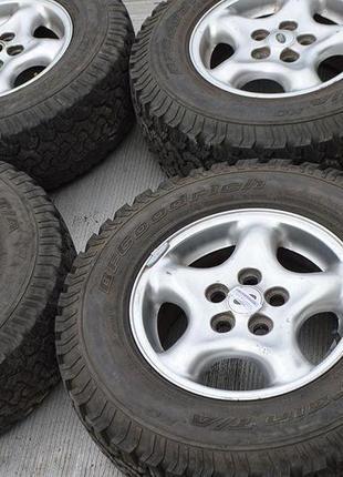 Комплект 4шт. Диск Land Rover + резина All-Terrain T\A 255 70 R16
