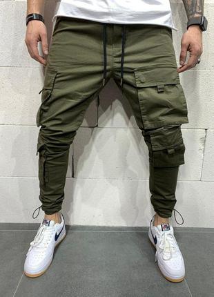 Срутые мужские джинсы с карманами