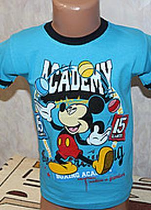 Детские футболки на мальчика на 1 - 1.5 года .турция .100%хлопок.