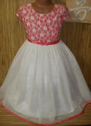 Нарядное платье на 8 лет от  jona michell