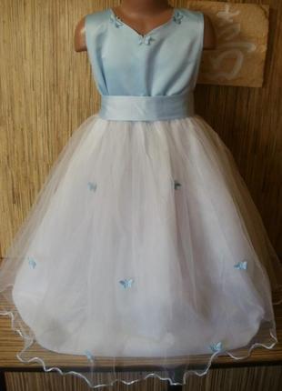Нарядное платье на 8 лет