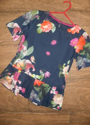 Стильная блуза на 9-10 лет