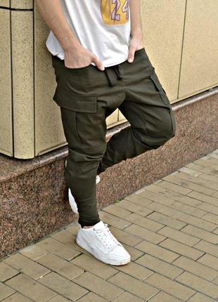Крутые мужские карго штаны