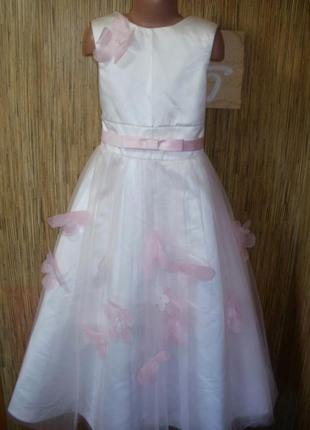 Шикарное нарядное платье на 10-11 лет