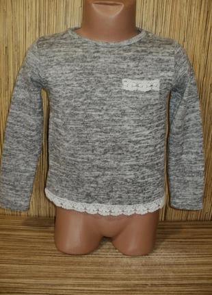 Тонкий свитерок на 4-5 лет
